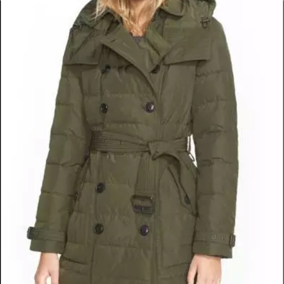 Burberry Brit Midallerdale Double-breasted Coat
